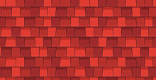 Roof Tiles Seamless Pattern. F...