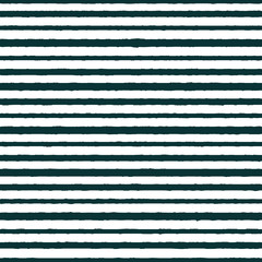 Vector textured horizontal stripes seamless pattern background