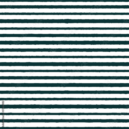 Fotografiet Vector textured horizontal stripes seamless pattern background
