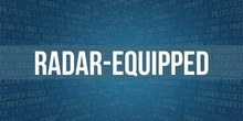 Radar-equipped