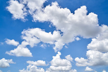 Beautiful Blue Sky And Cloud
