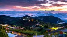 Beautiful Landscape Of Mountai...