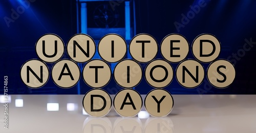 Cuadros en Lienzo United Nations Day