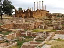 Ruins Of The Ancient City Of Thuburbo Majus Tunisia