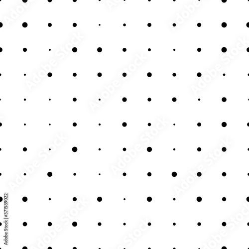 Tapety białe  halftone-seamless-pattern-with-circles-dotted-texture-polka-dot-on-white-background-abstract-round-seamless-pattern-vector-illustration