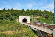 青森県 青函トンネル青森側入口