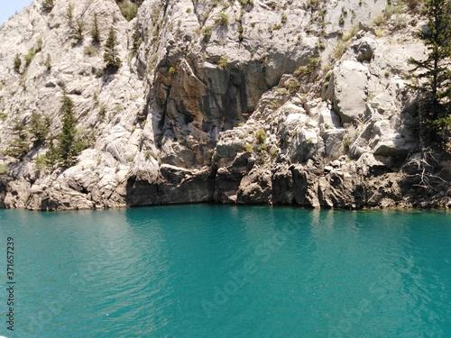 Fotografiet Landscape, Turkey, Green canyon, mountains,