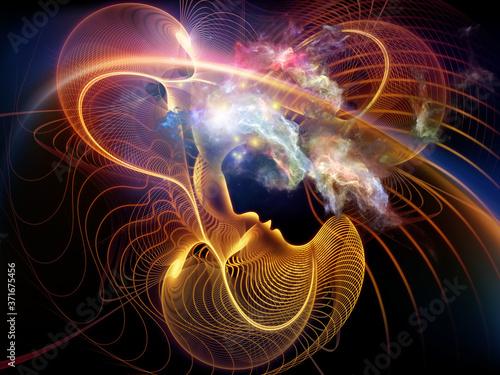 Fototapeta Trails of the Mind
