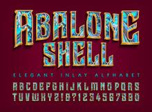 Abalone Shell Inlay Effect Alp...
