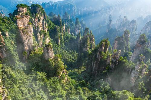 Fototapeta mountains in Zhangjiajie national park, China