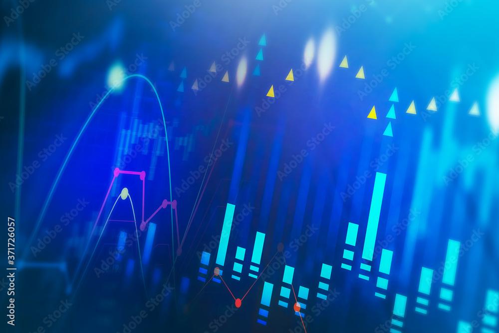 Stock market digital interface, trading