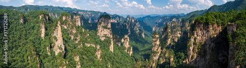 Fotografia, Obraz mountains in Zhangjiajie national park, China