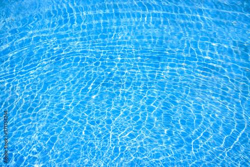水面の素材 夏のイメージ Canvas Print