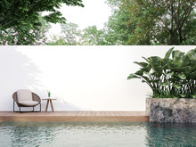 Modern Style Swimmimg Pool Ter...