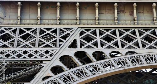partie de la tour Eiffel Fototapete