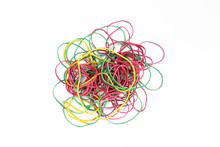 Bunch Of Colorful Rubber Bands...