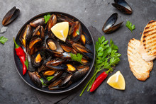 Traditional Seafood Mussels