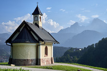 Kirchleitn Chapel With Mount W...
