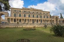 Palace Of St. Michael And St. George, Corfu Town, Corfu, Greece