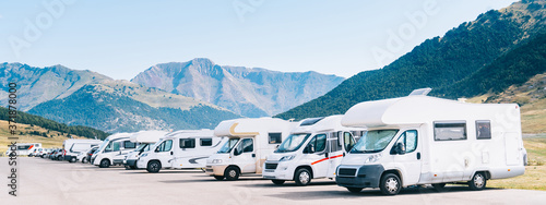 Summer tourism with RV Canvas