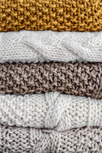 Detail Of A Stack Of Five Wool...