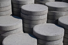 Circular Paving Stones For Lan...