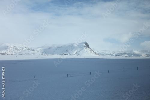 Fototapety, obrazy: アイスランド冬