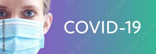 Obraz na plátně COVID-19 (Coronavirus)