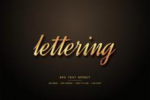 Script Text Style Effect 3d El...