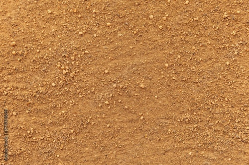 Fototapeta Close - up Brown ground texture and background