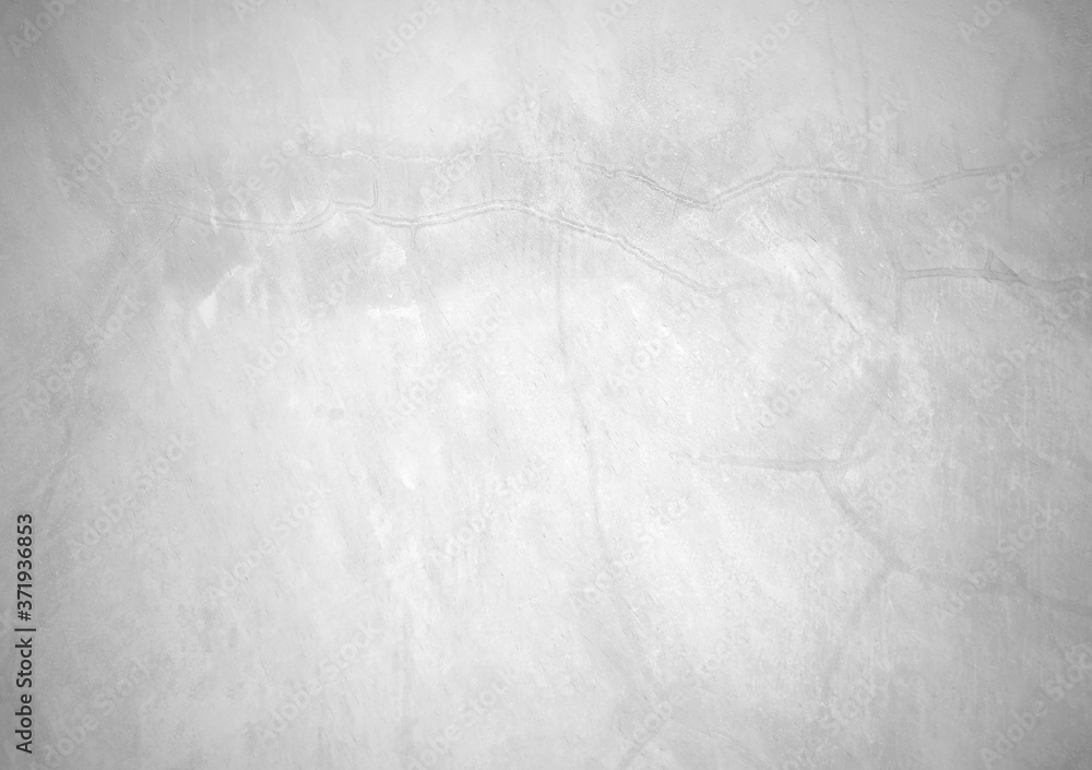 Fototapeta Loft texture background, Black and white for the background, Old polished cement wall for white background, The old white retro wall for the background can be beautifully assembled into the interior.