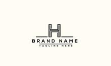 H Logo Design Template Vector ...