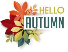 Autumn Themed Header. Composit...