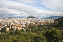 View Over Athens, Featuring Mo...