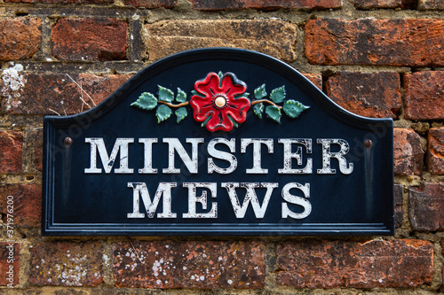 Foto Minster Mews in Wimborne Minster in Dorset, UK