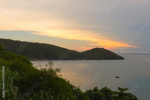 Joao Fernandinho beach at sunset, Buzios, Rio de Janeiro, Brazil Tableau sur Toile