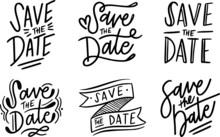 Save The Date Handwritten Insc...