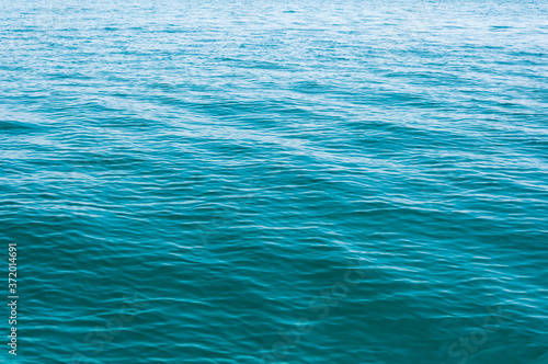 Blurred image of sea water texture in movement Fototapeta