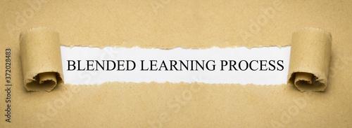 Canvastavla Blended Learning Process