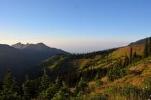 Mountain Valley Below