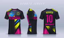 T-shirt Sport Design Template,...