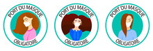 Port Du Masque Obligatoire. Tr...