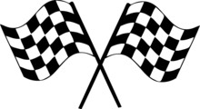 Checkered Finish Racing Flag V...