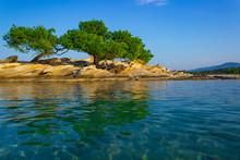 Mediterranean Sea Bay Rocky Co...