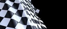 Flag Finish Race Sport 3d Cham...