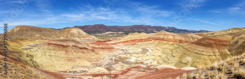 Fototapeta The Painted Hills in central Oregon