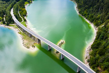Aerial View Of Bridge Over Syl...