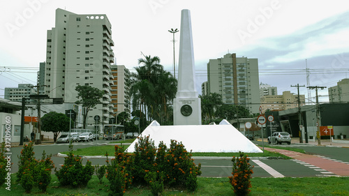 Carta da parati Campo Grande, MS, Brazil - In 1933 the obelisk was built in memory of the city's