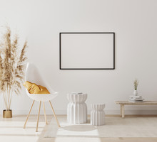 Blank Horizontal Picture Frame...