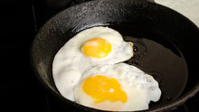 Chicken Eggs, Fried Eggs In A ...